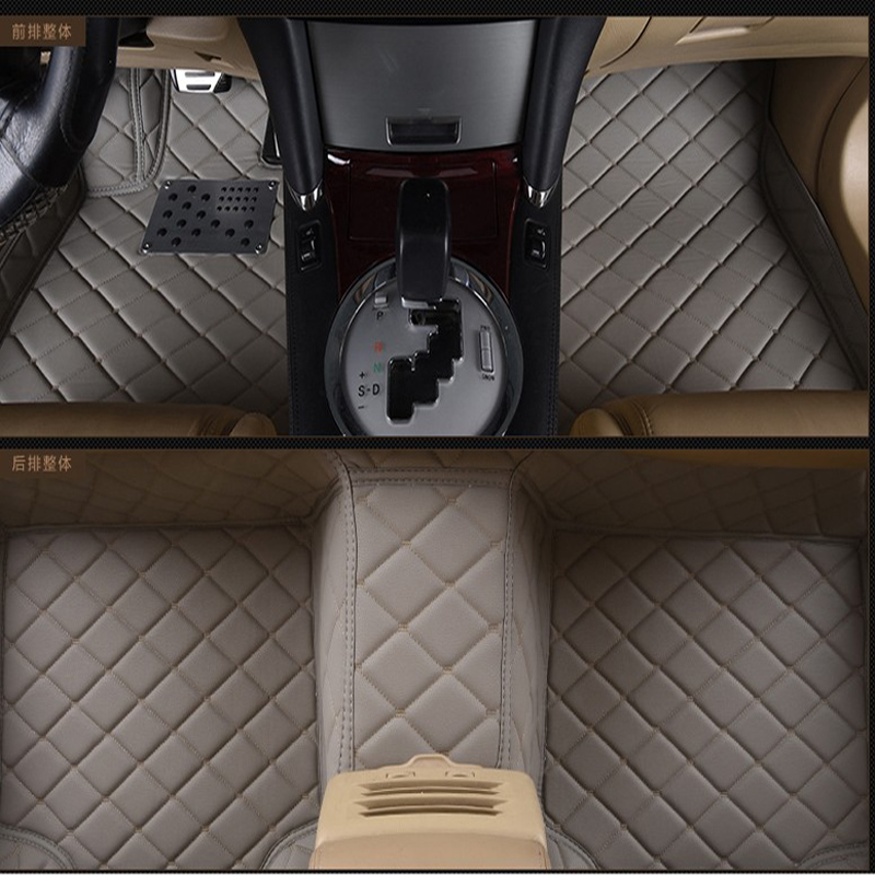 special RHD right hand drive car floor mats for Sienna Hong Kong version of Senna five seats full surrounded carpets