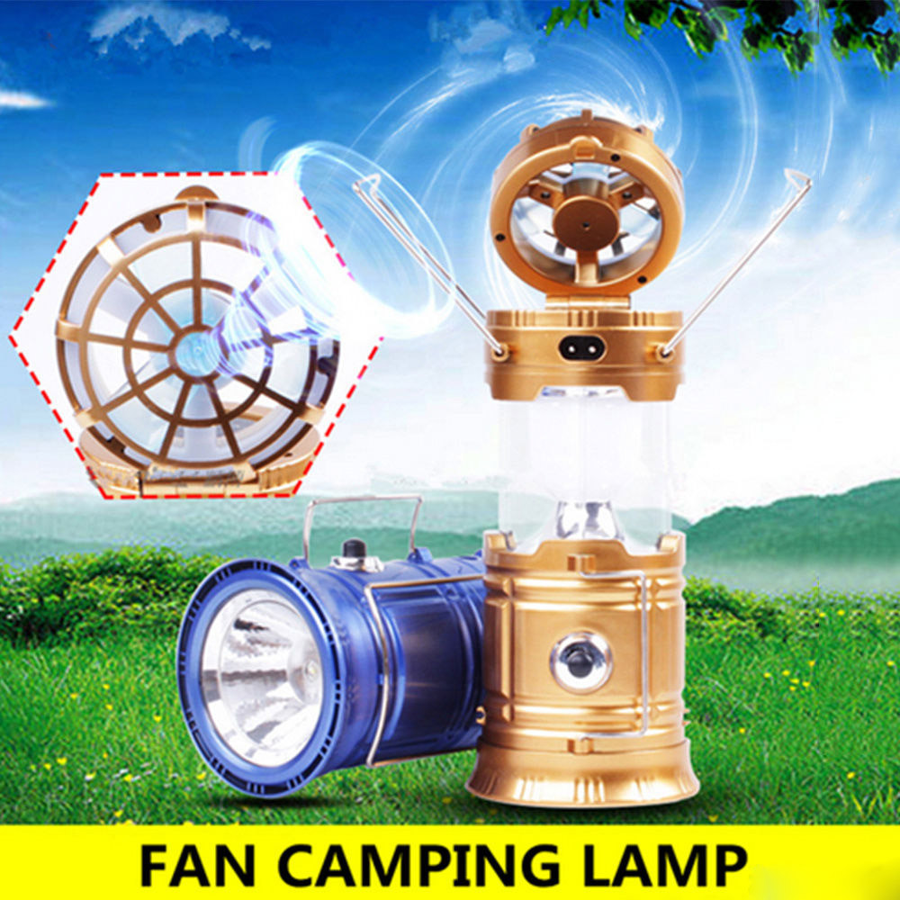 Outdoor Survival EDC Multi Tool Camping Hiking Solar Rechargeable Fan Multi-function LED Camping Light Table Lamp Flashlight outlife new style professional military tactical multifunction shovel outdoor camping survival folding spade tool equipment