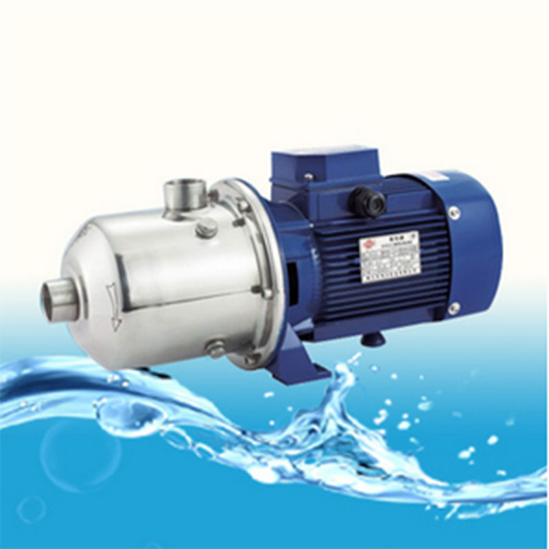 1/2HP Stainless Steel Centrifugal Pump Light Multi-stage Spray Boiler Water Supply Pump 1 2hp 220v 50hz single phase small stainless steel centrifugal water pump sanitary pump beverage pump dishwasher pump