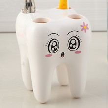 Teeth Style Toothbrush Holder