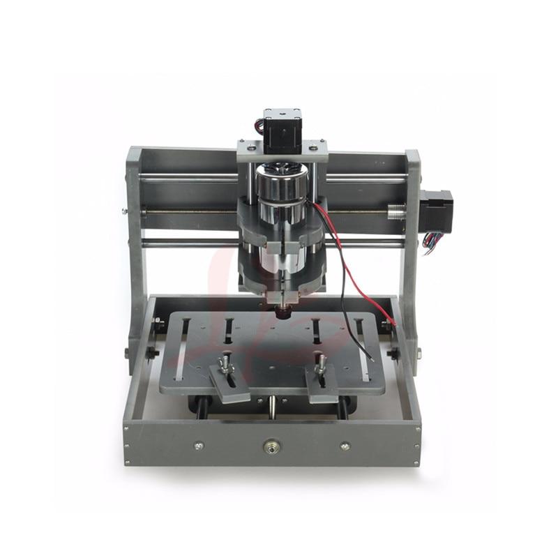 2018 DIY Mini 2020 CNC Frame Nema17 Stepper Motor Wood Engraving Drilling Milling Machine eur free tax cnc 6040z frame of engraving and milling machine for diy cnc router