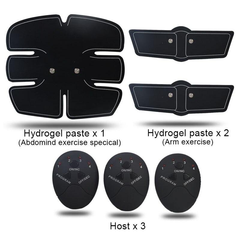 EMS Wireless Muscle Stimulator Smart Fitness Abdominal Training Device Electric Weight Loss Stickers Body Slimming Belt Unisex 3