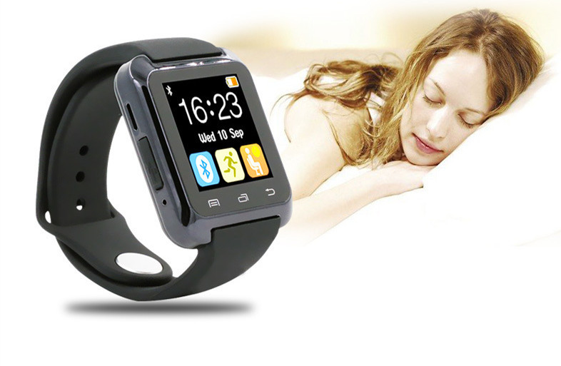 FREE SHIPPING Bluetooth Smart Watch U80 WristWatch Watch for Samsung S4/Note 2/Note 3 HTC LG Huawei Android Phone Smartphones