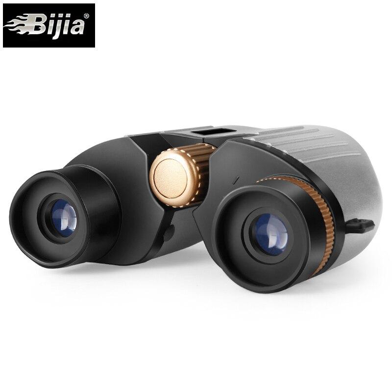 BIJIA 30x22 mini tasche fernglas teleskop opernglas für sport fußball uhr wohnzimmer wasserdichte
