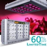 Mars ProII Epistar 600W LED Grow Light Full Spectrum Grow Light Hydroponics 257W Hydroponics for Indoor Plant