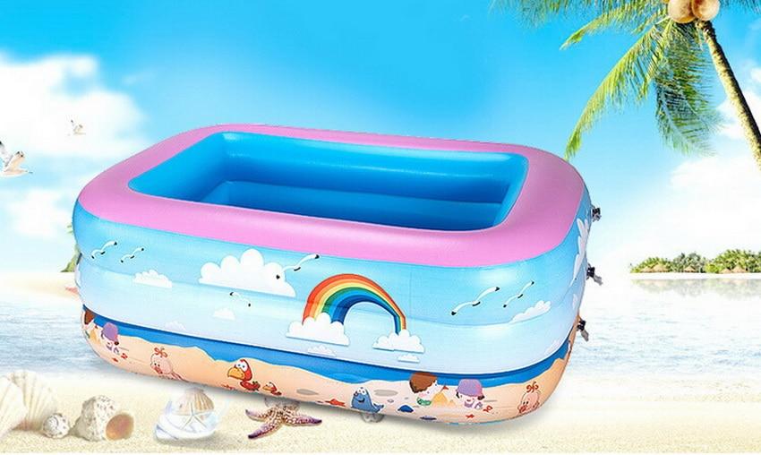 Утолщенной экологически безопасные надувные бассейны, детский купальный бассейн,