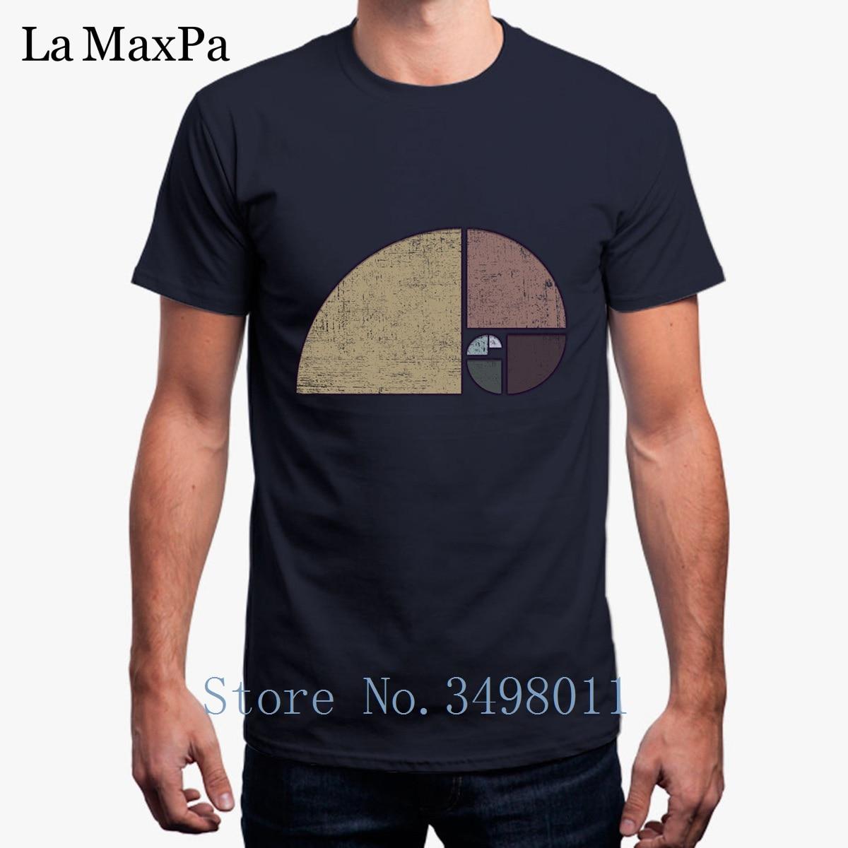 Nova Camisa de T Para Mens Afligido Geométrica de Fibonacci Tshirt Sólida Básica O Pescoço T-Shirt Dos Homens de Fitness 2018 Homme