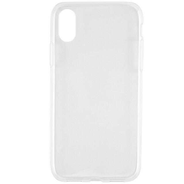 Чехол-накладка iBox Crystal для iPhone X (прозрачный)