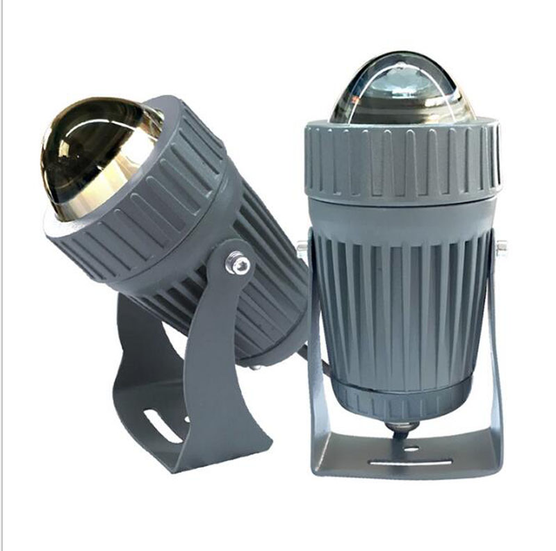5pcs Led Column Spotlights 10W Linear Light Projector IP66 Waterproof AC85-265V DC12V Reflector Lamp Roof Lighting Street Light car led spotlight cree automotive short animated film spotlights roof lighting roof lamp dc10 40v