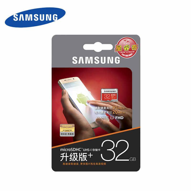 Chính Hãng SAMSUNG Thương Hiệu Thẻ NHỚ Micro SD 32GB Class 10 EVO + Thẻ nhớ MicroSD 256GB 128GB 64GB EVO Plus Thẻ TF de Memoria