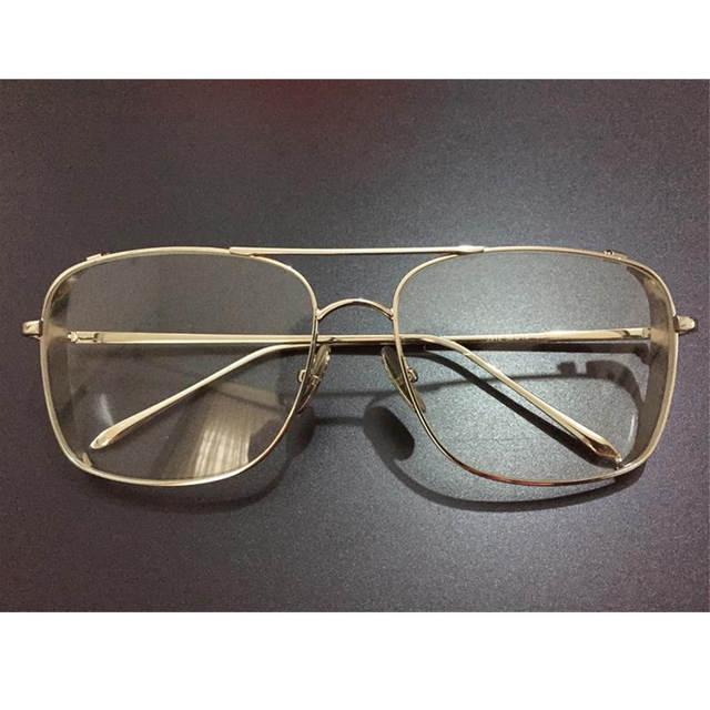 347ba327fde gold glasses frames for men brand optical glasses women frames clear  transparent eye glasses metal frame