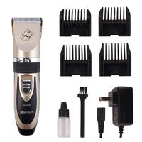 2018 Professional Pet Dog Hair Trimmer Animal Grooming Clippers High Quality Electrical Clipper Shaver Set Haircut Machine Hot