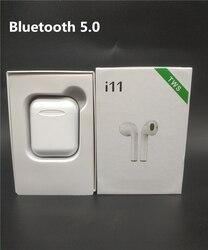 I11 tws słuchawki Bluetooth 5.0 bezprzewodowe słuchawki douszne mini z mikrofonem do telefonów IPhone Xiaomi z systemem Android Ios