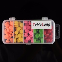 YeMuLang High Quality 100 Pcs/Lot Soft Baits Corn Carp Fishing Lures With Smell  Artificial Bait For Crap Fishing Tackle Box