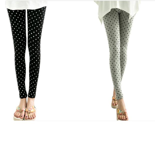Venta caliente Más El círculo Impresión Pantalones Resorte De la Ropa de Otoño Invierno Para Las Mujeres Embarazadas