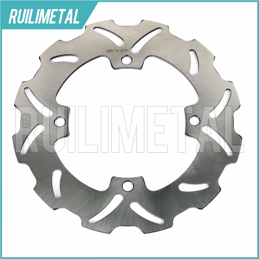 Rear Brake Disc Rotor for SUZUKI  RMX RMZ 250 450 2005 2006 2007 2008 2009 2010 2011 2012 2013 2014 2015 1x rear brake rotor disc braking disk for suzuki gsr400 2006 2010 gsx1250fa 2010 2011 gsx650f 2008 2011 gsf650 bandit abs 2011