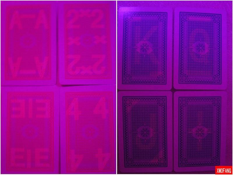 Sihirli poker evi-DunHuang 737 beyaz poker, perspektif poker, 87x57mm, Satış perspektif gözlükleri. Poker Oyunları.