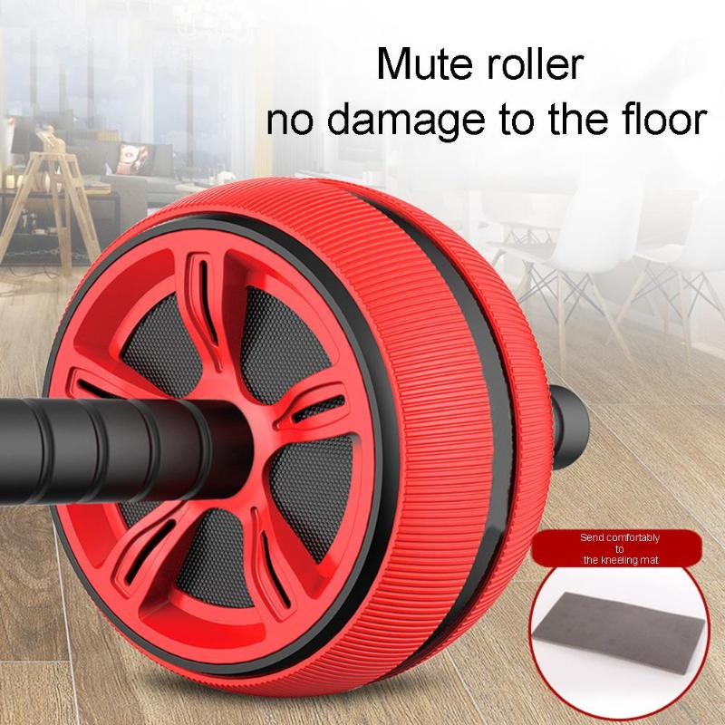 Fitness Equipment & Gear Large Silent Tpr Abdominal Wheel Roller Trainer Fitness Equipment Gym Home Exerc