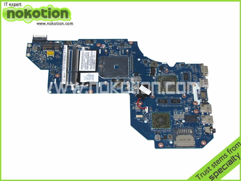 NOKOTION 687229-001 QCL51 LA-8712P Laptop Motherboard for HP PAVILION M6 M6-1000 HD7670M DDR3 Mainboard Full Tested nokotion 809986 601 809986 001 laptop motherboard for hp pavilion 17 p day21amb6d0 a10 7050m cpu ddr3 mainboard full works
