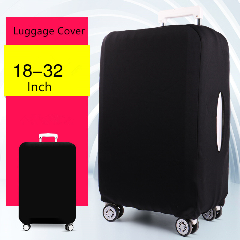 Upgrade Elastic travel luggage covers Protective Suitcase cover Trolley case wear-resistant thickening dust cover for 18-24inch travel aluminum blue dji mavic pro storage bag case box suitcase for drone battery remote controller accessories