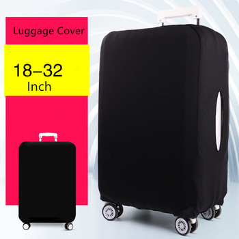 Upgrade Elastic travel luggage covers Protective Suitcase cover Trolley case wear-resistant thickening dust cover for 18-24inch