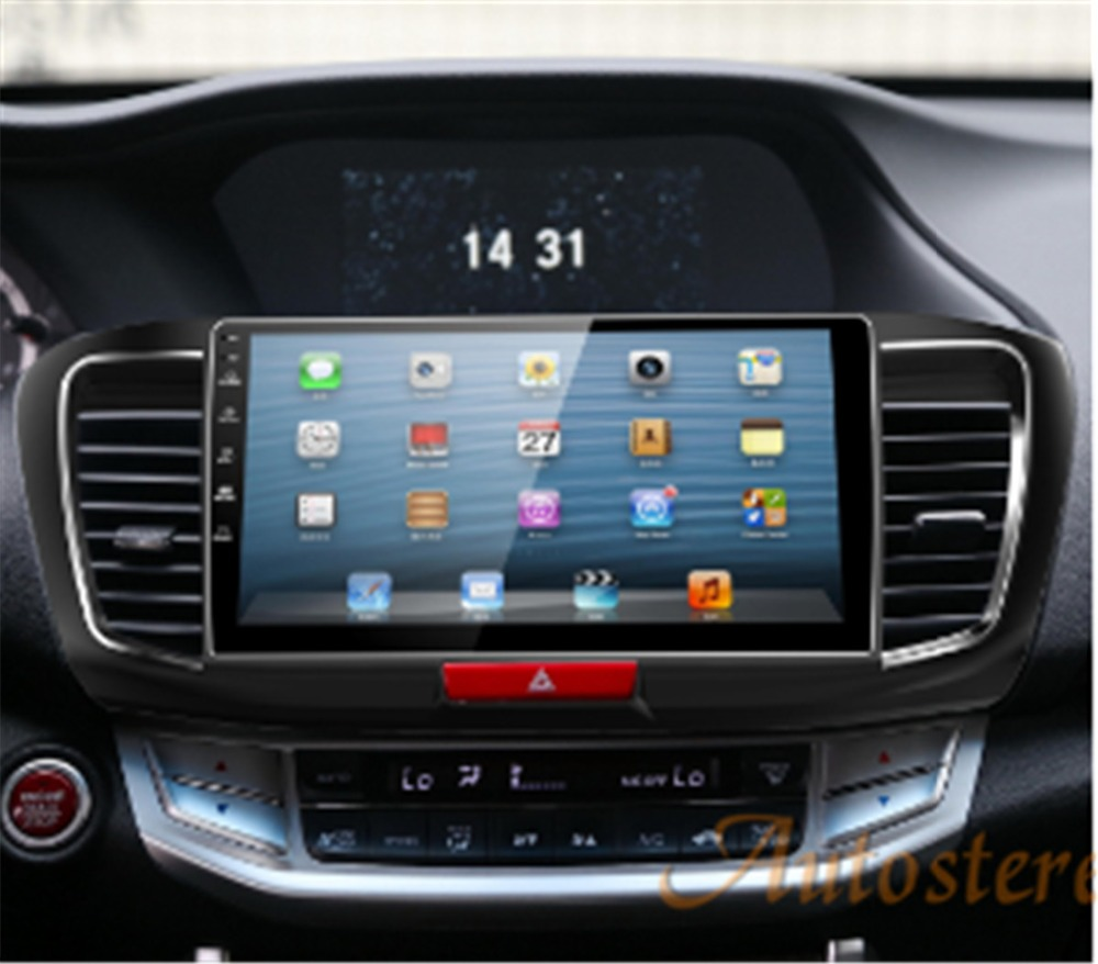 10 1 inch android 5 1 quad core car gps navigation car dvd player for honda accord 2013