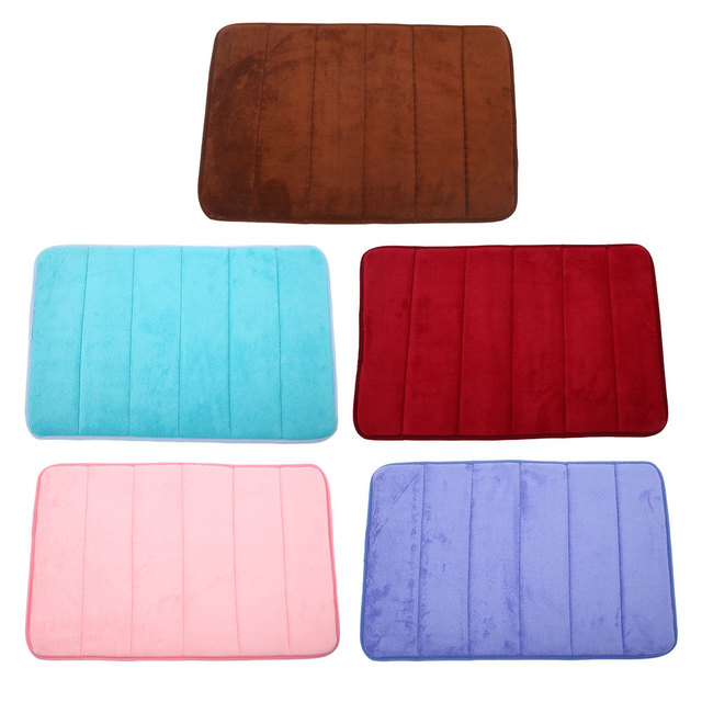 Bath Mat Memory Foam Non-slip Carpet For Bedroom Living Room Slip-resistant Bape Rug 5 Colors Alfombras Bape Tapete Para Sala