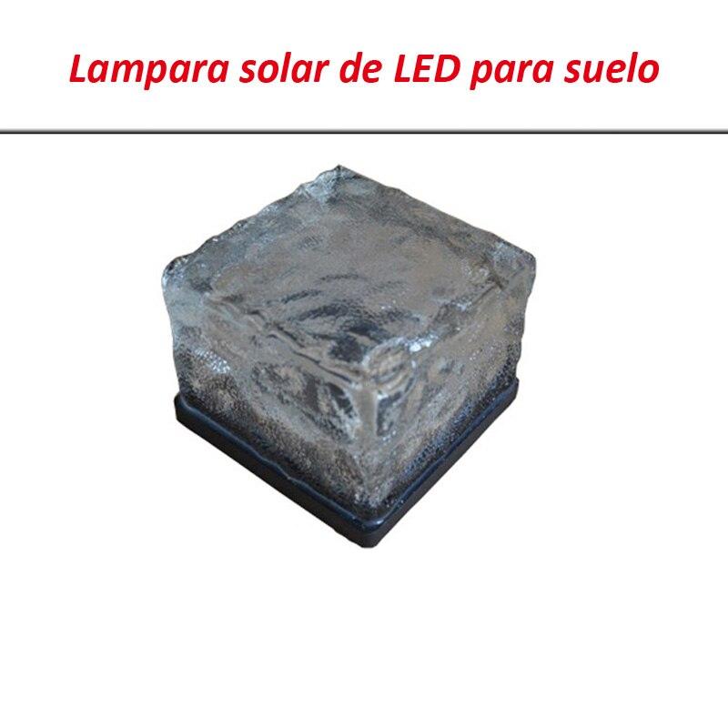 subterraneo luminaria lampara solar de led para valla en jardin y patio encendido automatico exterior con bateria recargable