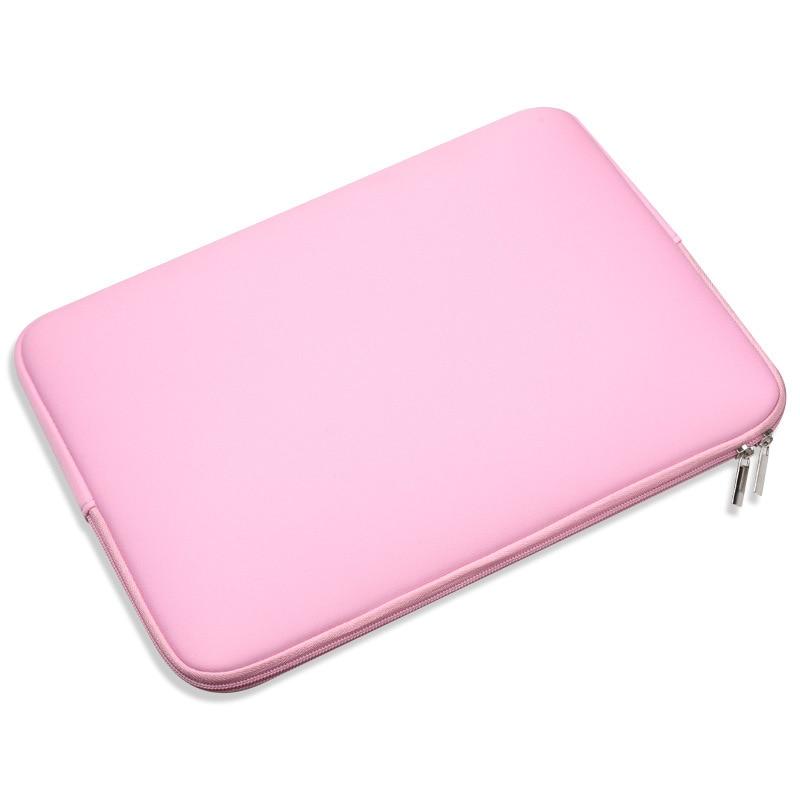 "Fanshu Laptop Bag Zipper Soft Sleeve 11 12 13 14 15"" inch Bag Case for MacBook Air pro Ultrabook Notebook Tablet Portable"