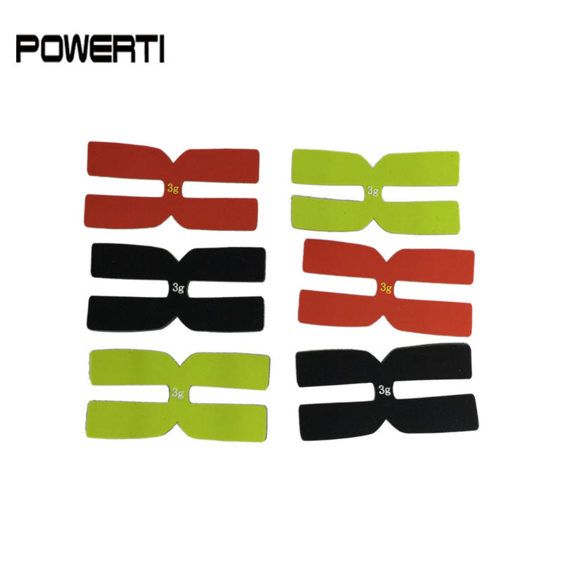 Powerti 3g Tennis Racket Weight And Balance Strips ,H Racquet Balancer Type Silicone Tennis Racket Balance Accessories