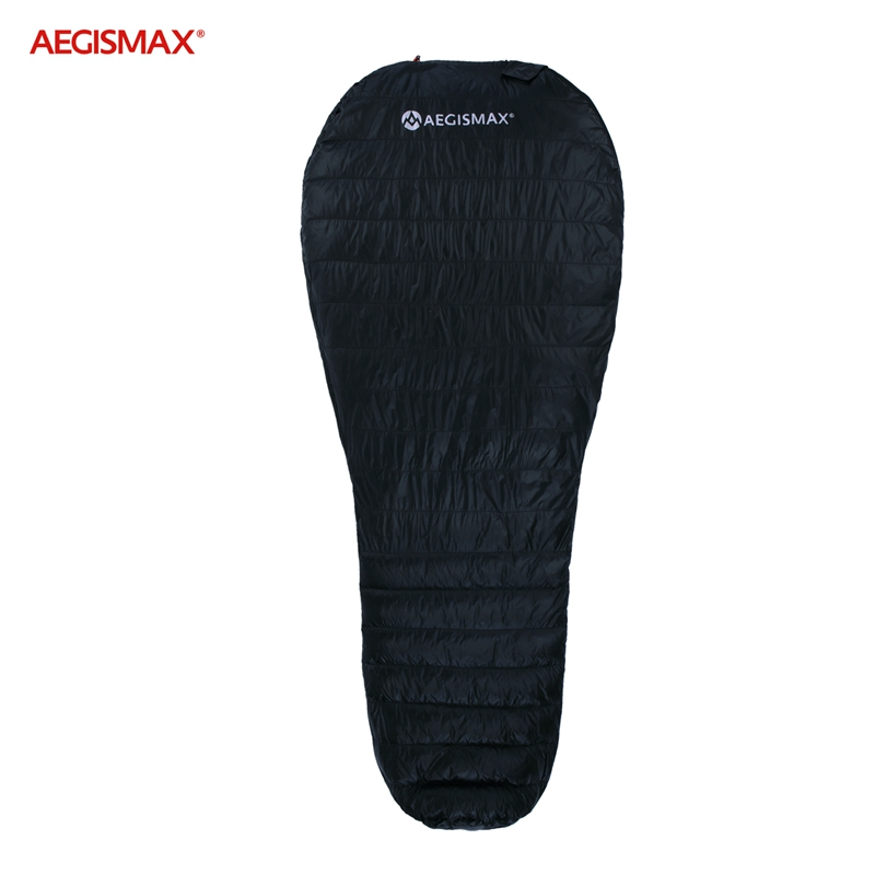 AEGISMAX New Nano Upgrade 700FP Sleeping Bag Ultra Dry White Goose Down Splicing Mummy Ultralight Hiking