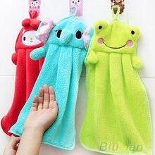 Банное протрите рук висит ткани полотенце плюшевые мягкие животных мультфильм детские