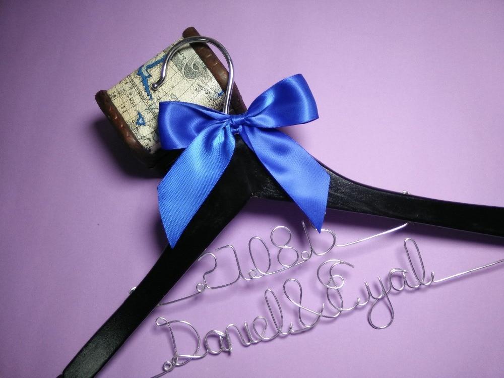 Personalizat cuier de nunta, cadouri de onoare, numele cuier, cuies - Organizarea și depozitarea în casă