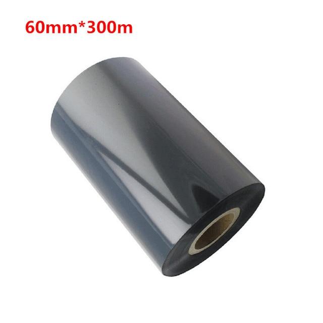 60*300 Wax Ribbon for Barcode Label Printer 60mm * 300m Black Ink Thermal Transfer Wax Ribbon 60mm X 300m Bar Code Ribbon