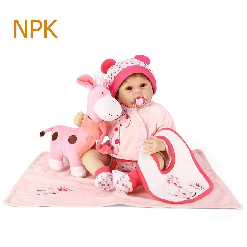 3 Style NPK mignon réaliste Simulation Reborn poupée non toxique doux Silicone réaliste artificiel enfants poupées en tissu jouet cadeau de noël