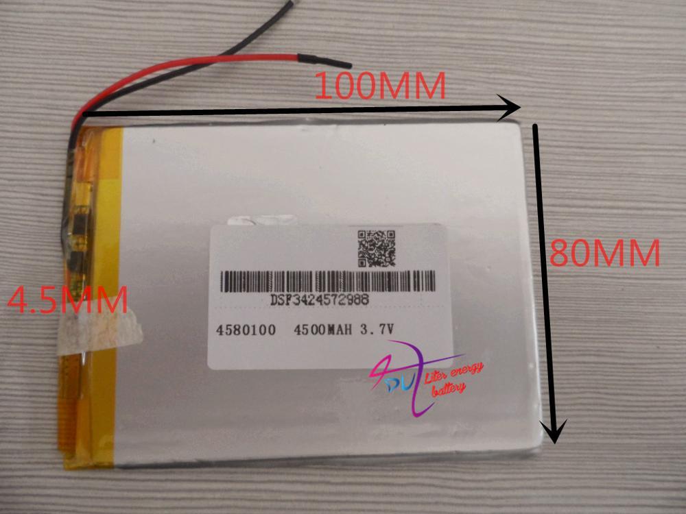 polymer Lithiumion 9 Inch Tablet Pc D70pro Ii 4,5*80*100mm BerüHmt FüR Hochwertige Rohstoffe Batterie Für 7,8 Umfassende Spezifikationen Und GrößEn Sowie GroßE Auswahl An Designs Und Farben Bescheiden Beste Batterie Marke 4580 100 3,7 V 4500 Mah Li-ion