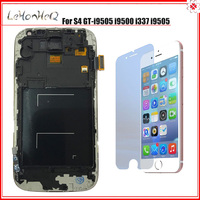Test LCD For Samsung Galaxy S4 i9500 i9505 Touch screen Digitizer LCD Display with Frame For Samsung S4 i9500 Adjust LCD