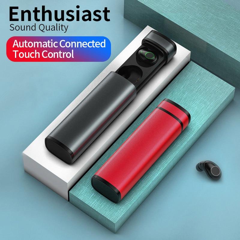 tws bluetooth 5 0 Wireless earphone True Wireless Stereo In ear Sport Touch headset Earbuds With