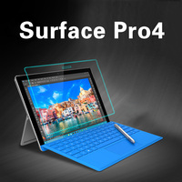 Super Clear Screen Protector For Surface Pro 4 Ultra Clear HD Tempered Glass Screen Protector For