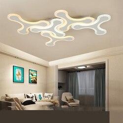 Nowoczesny żyrandol sufitowy led światła do salonu gabinet sypialnia AC85-265V nowoczesne lampy led żyrandol