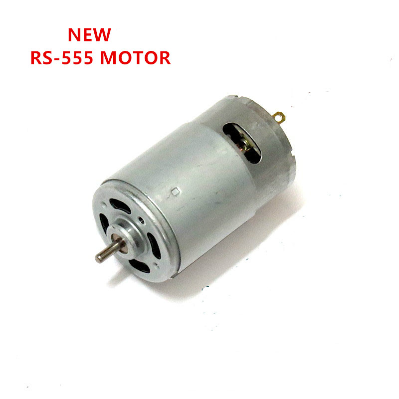 New 555 DC Motor RS-555 Permanent Magnet DC Motor Large Torque 24V 555 Motor with Fan
