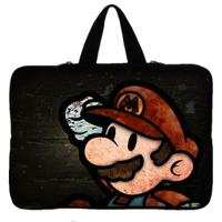 Cartoon Print laptop bag tablet sleeve case with handle PC handbag 15'' 15.6 15.4 inch computer notebook cover pouch