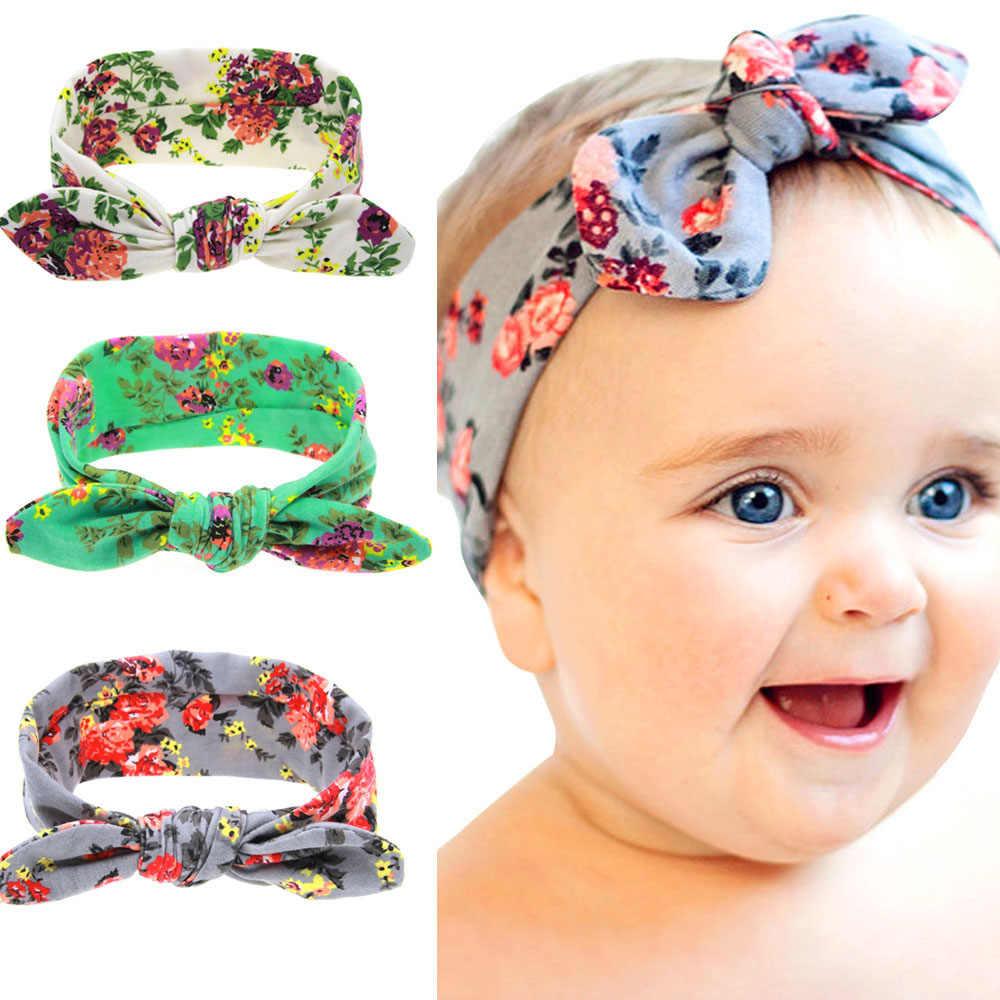 Meninas do bebê Headband Da Flor Set Infantil St. Patrick's Day Shamrock Clover Presente Das Crianças Das Crianças Do Partido Banda Headwear Acessório Do Cabelo