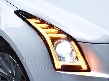 car styling for Cadillac ATS headlight,2014~2017,car accessories,Free ship!ATS fog light,SRX,SLS; ATS