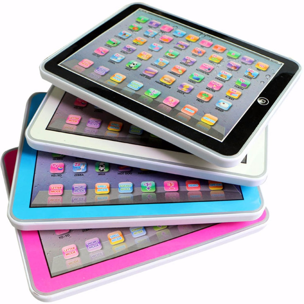 Baby Tablet Educational Toys English Early Learning Study Machine Electronic Language Study Table Learning Machine Mini Pad