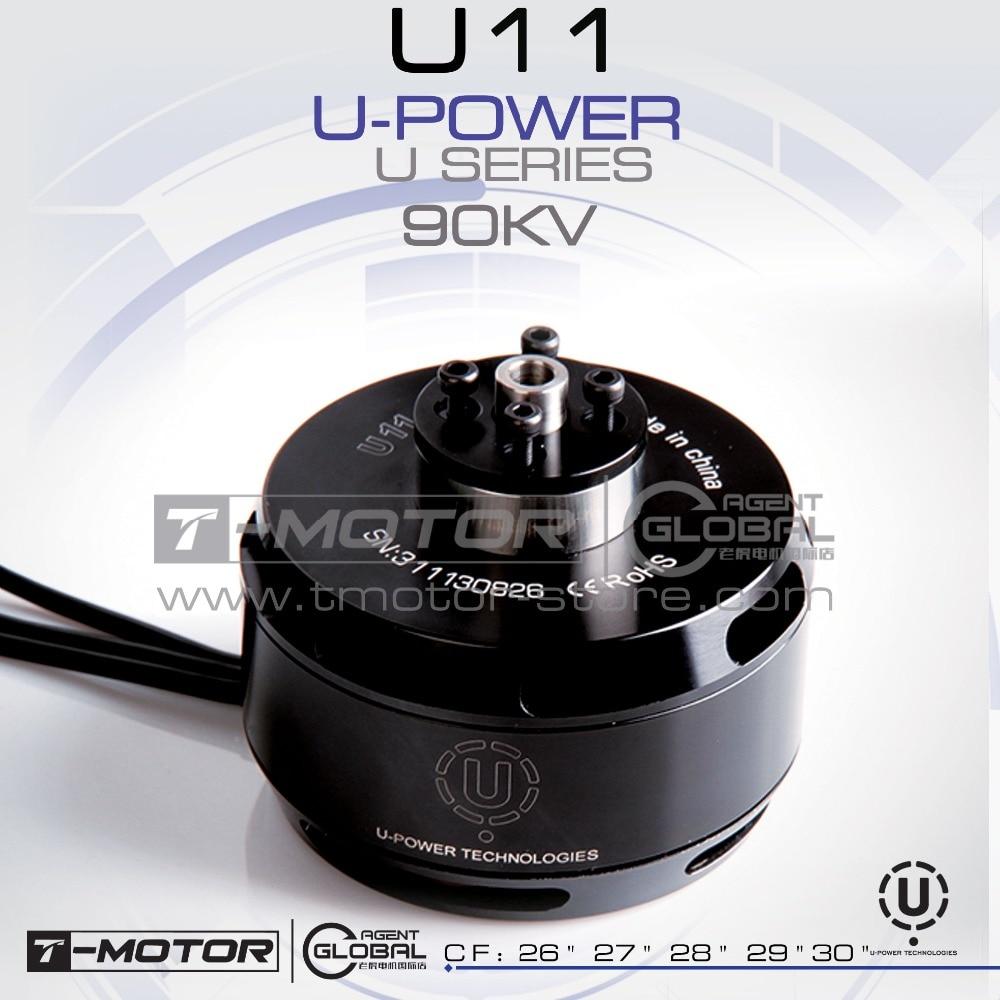 T-MOTOR professional U-POWER MOTOR U11 KV90 drone brushless motor t motor brushless motor u10 plus kv80 drone brushless motor