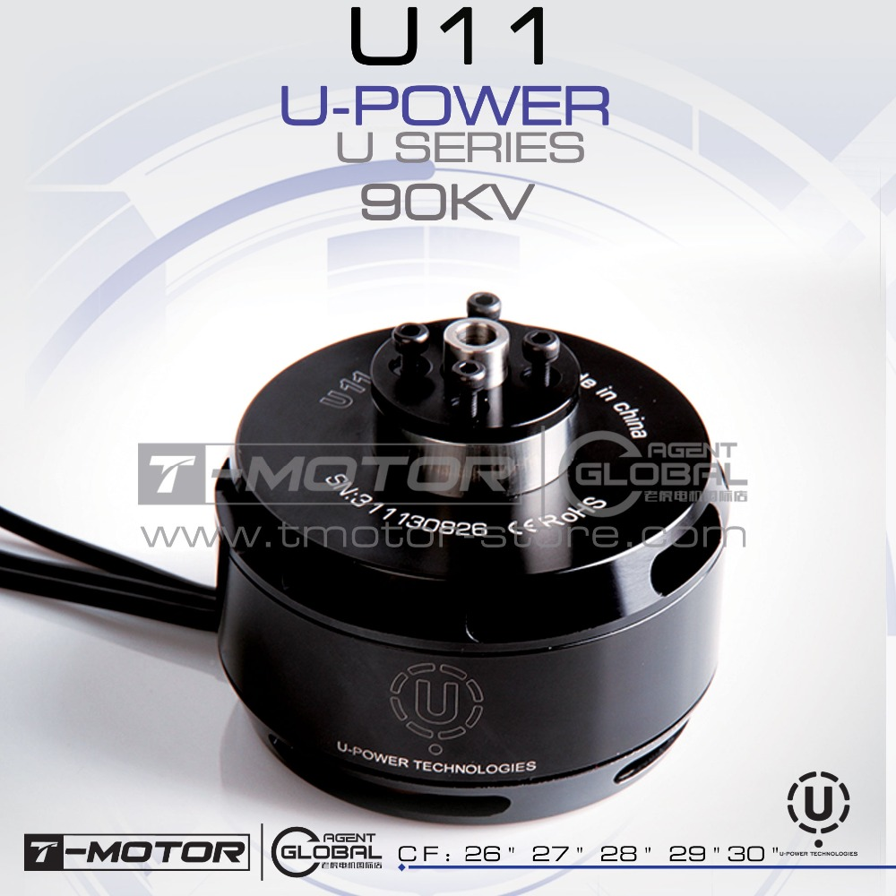 T-MOTOR professional U-POWER MOTOR U11 KV90 drone brushless motor