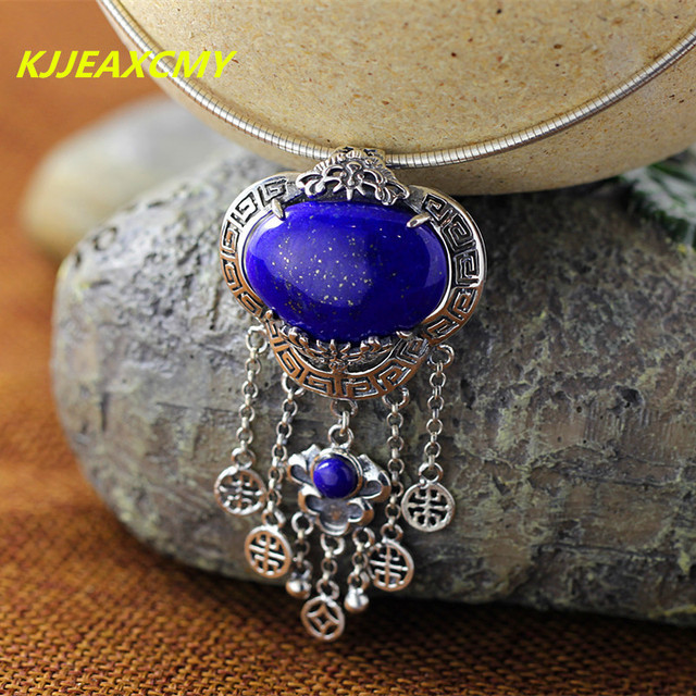 made universe sterling p blue pendant necklace hand silver lazuli and lapis