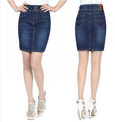 Compare Prices on Plus Size Blue Jean Skirts- Online Shopping/Buy ...