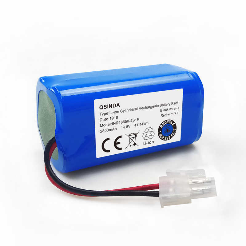 14.8V 2600mAH  Battery for ILIFE A4 A4S A6 V7 Robot Vacuum Cleaner